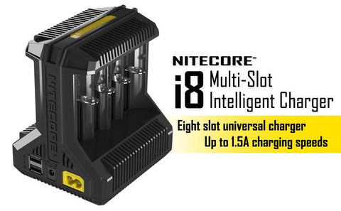 i8 Battery Charger - Nitecore