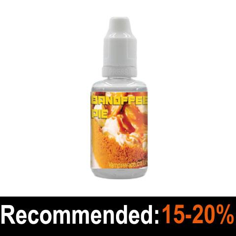 Banoffee Pie Flavour Concentrate - Vampire Vape