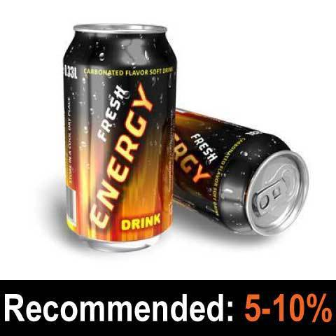 Energy Drink (Red Wings) - Pope and Brewer's Gourmet Flavours
