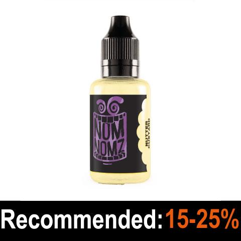 Nutter Custard Flavour Concentrate - Nom Nomz