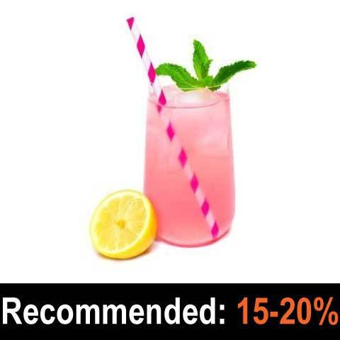 Pink Lemonade - Pope and Brewer's Gourmet Flavours