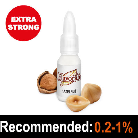 Hazelnut 15ml - Flavorah