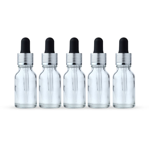 15 ml Glass Dropper Bottles (5pack)