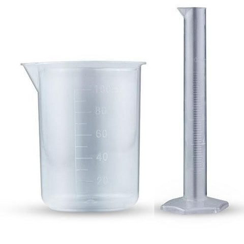 Measuring Cylinder and Mixing Beaker Set