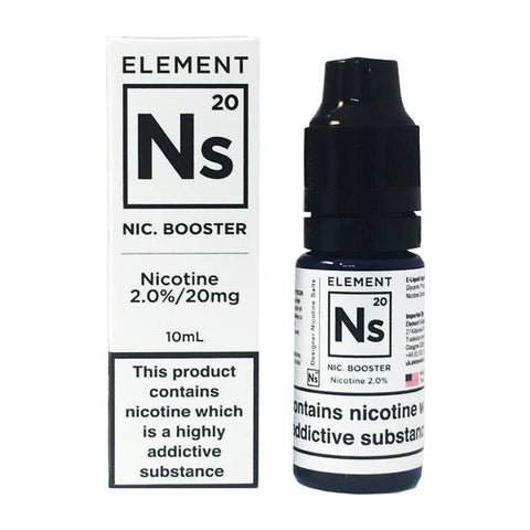 NS20 Nic Salt Shot - Element