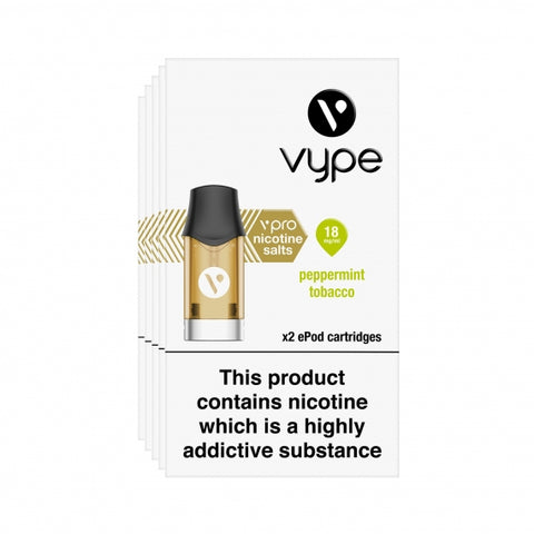 ePod Cartridges vPro Peppermint Tobacco 18mg - Vype