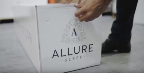 Opening the Allure Sleep box