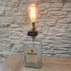 Disaranno Almond Liquor Lamp Bottle - Comme Glom