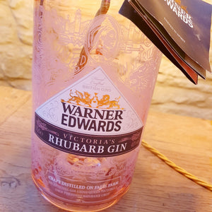 Lovely Pink Warner Edwards Bottle Lamp - Comme Glom