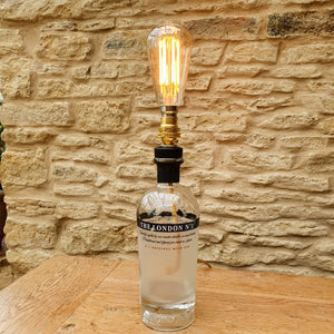 The London No1 Gin Bottle Lamp - Comme Glom