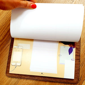 PRE ORDER - NEW Point of View Desk Pad & Clipboard - Comme Glom