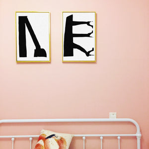 """3 heels, better than 2"" wall art - Comme Glom"