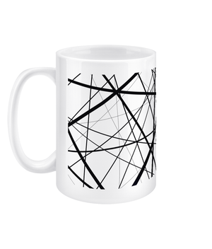My scattered brain, Designer Mug - Comme Glom