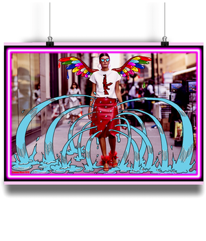 Candy Angel Wall Art - Comme Glom
