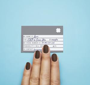 Not At All Corporate Business Cards - Comme Glom