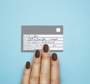 Not At All Corporate Business Cards - Wholesale - Comme Glom
