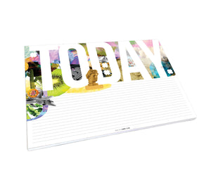 Large Today Desk Pad - FREE SHIPPING - Comme Glom