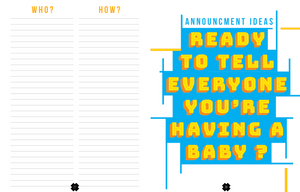 An Anything But Ordinary Pregnancy Journal - Comme Glom