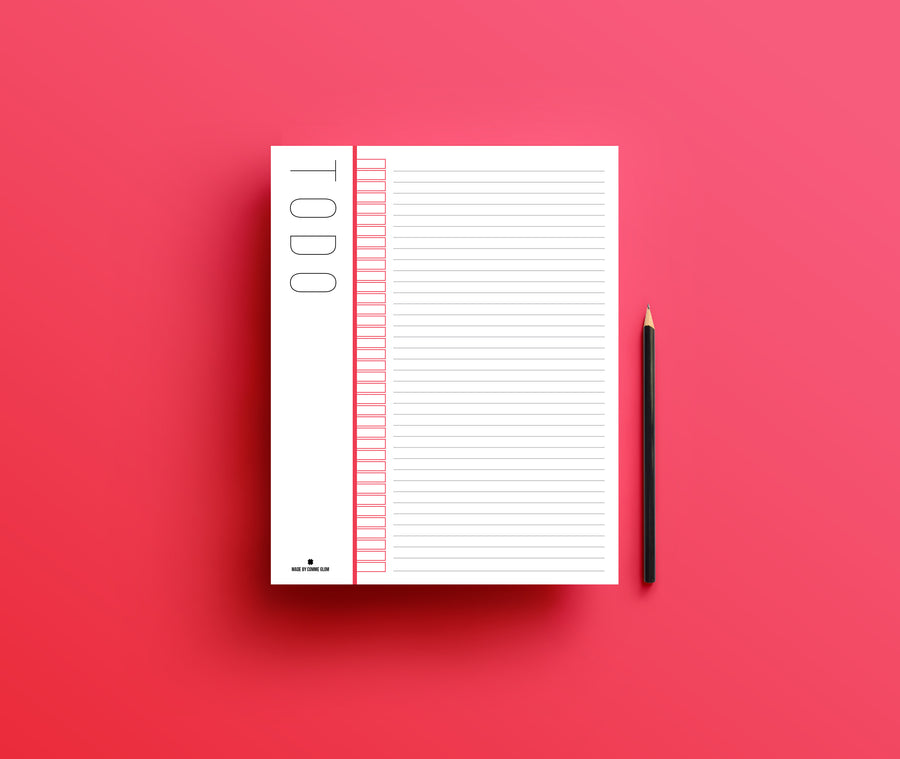 Todo list neon jotter - Comme Glom