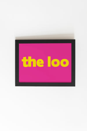 """The Loo"" Print - Comme Glom"