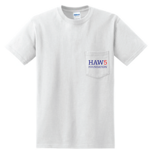 HAW5 Foundation Short Sleeve White T-Shirt