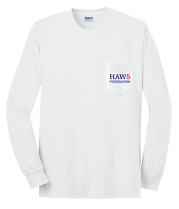 HAW5 Foundation Long Sleeve White T-Shirt