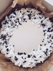 BOUNTY VEGAN CHEESECAKE
