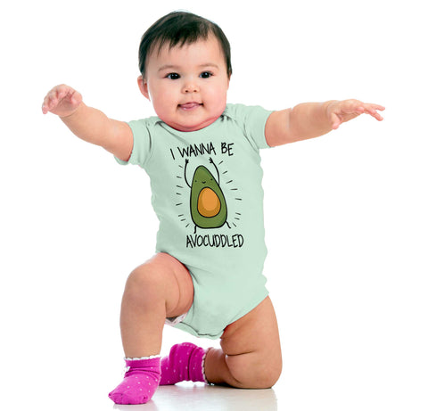 313b15894 If you're the one millennial momma not affected by the avocado craze…  you're going to be now! Get the little one into this irresistibly cute  onesie, ...
