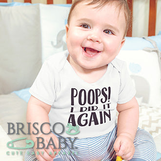 Brisco Baby is a baby onesie and infant toddler shirt brand.