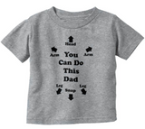 You Can Do This Dad Baby Tee