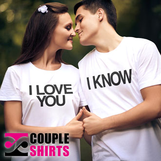 Couple Shirts is a shirt brand for couples. Website coming soon!
