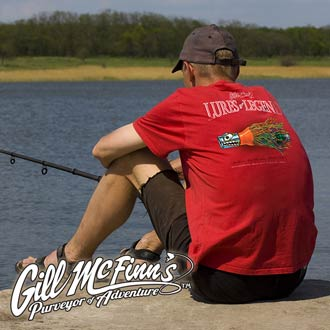Check out Gill McFinn's, a fishing t-shirt company for the adventurous and imaginative!