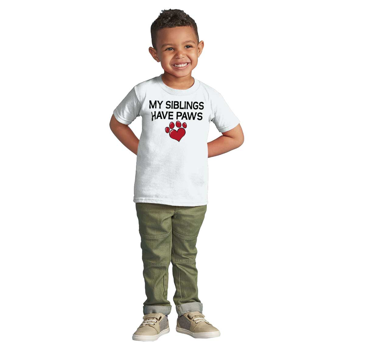 Only Child,6-12mths to 5-6yrs,4 colours My Siblings Have Paws Baby Kids T Shirt