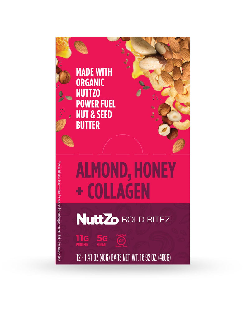 Almond, Honey + Collagen Bold BiteZ