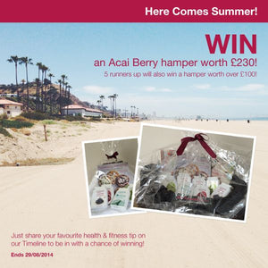 Win a £230 Acai Berry hamper with our 'Here Comes Summer!' competition …