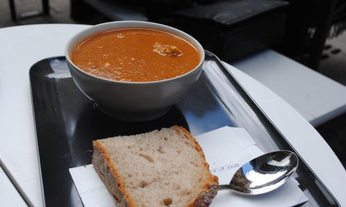 Paprika & Red Pepper and Pistachio Soup Recipe
