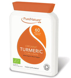 Organic Turmeric Curcumin with Organic Black Pepper
