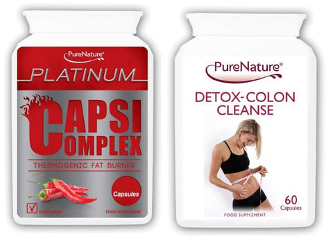 Capsi Complex and Detox Colon Cleanse Combo