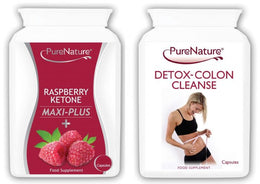 Raspberry Ketones Maxi Plus and Detox Colon Cleanse