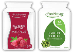 Raspberry Ketones Maxi Plus and Green Coffee Combo