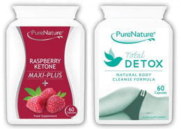 Raspberry Ketones Maxi-plus and Total Detox Combo