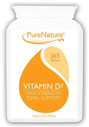 Vitamin D3 1000 IU 365 Tablets