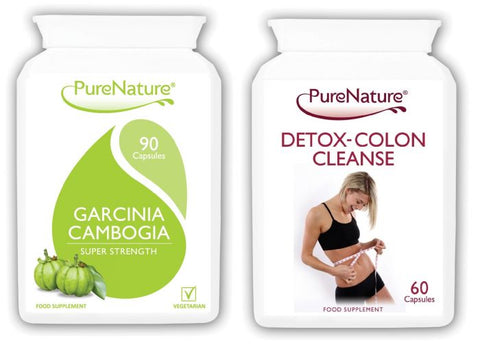 Garcinia Cambogia and Detox Colon Cleanse Combo
