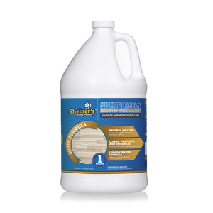 Super Formula Hardwood Floor Cleaner Concentrate - Sheiner's cleaning products