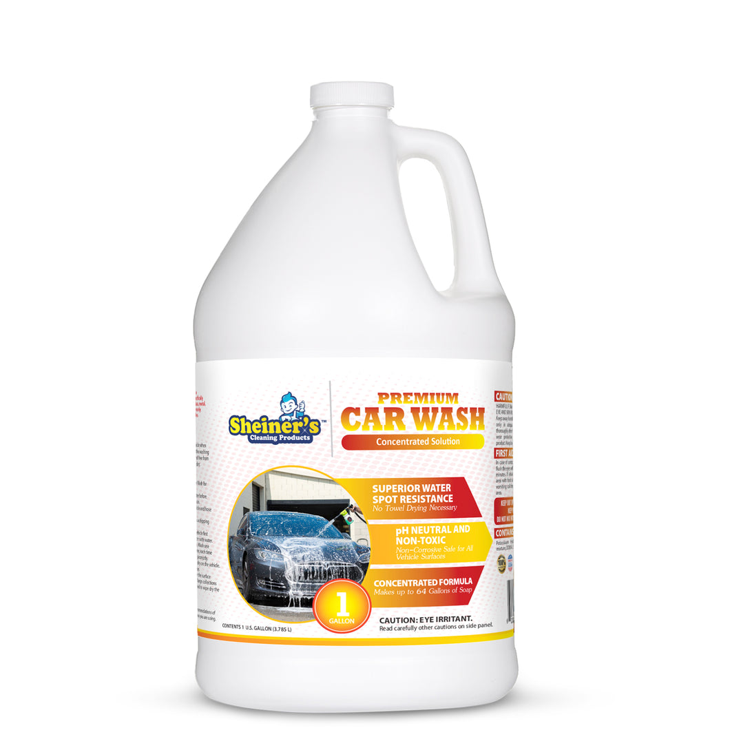 Premium Car Wash Soap - Sheiner's cleaning products