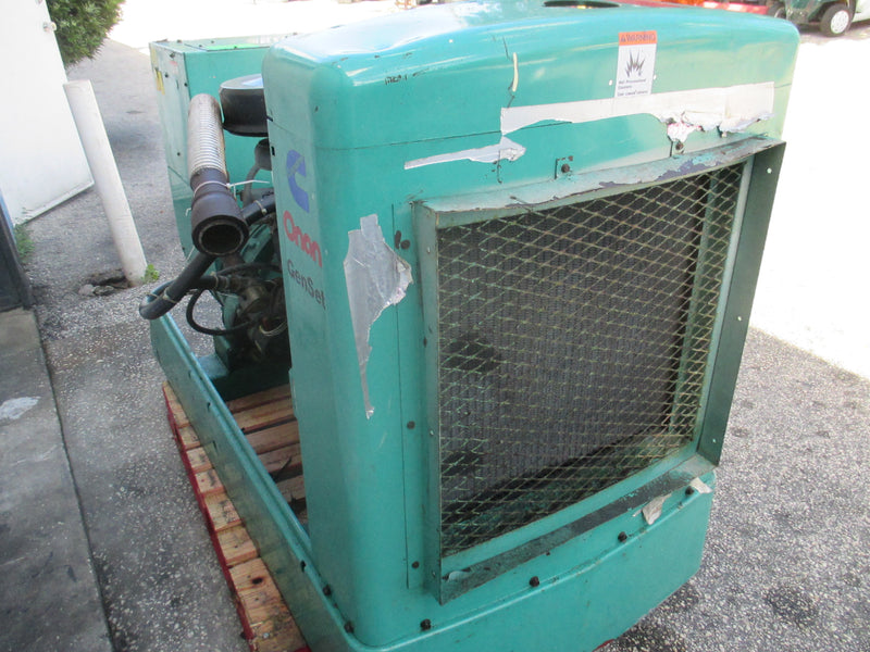 Onan 35KW Genset Propane LPG Generator Standby Duty 120v to 480V 1 or 3 PH - Business Equipment World