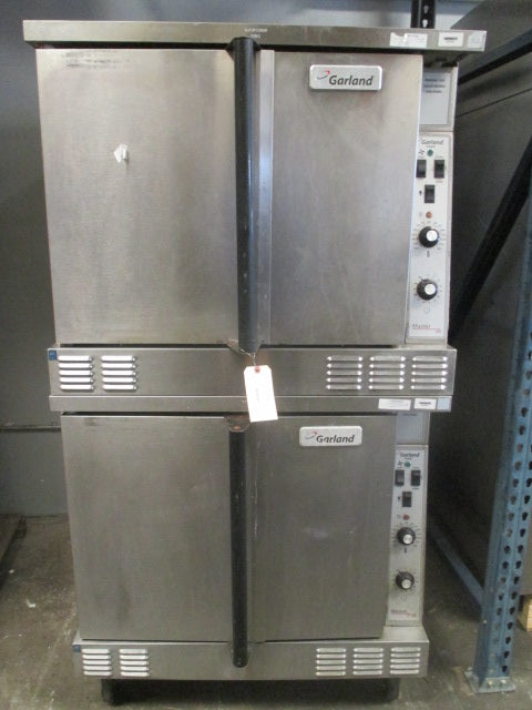 Garland Double Stack Gas Heated Convection Oven Propane CNG 500*F Master 200 - Business Equipment World