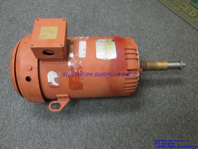 Baldor 37H609Y762E7 215JP Super-E Electric Pump Motor Industrial 5HP 3PH WE SHIP - Business Equipment World