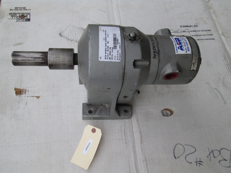 NEW Cooper Power 74121AA3 Rotary Pneumatic Gear Motor Air Driven 7.7 HP 465 RPM - Business Equipment World