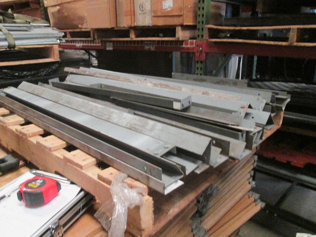Pallet Of Horizontal Shelf Support Brackets for Adjustable Storage Racks 24x48 - Business Equipment World